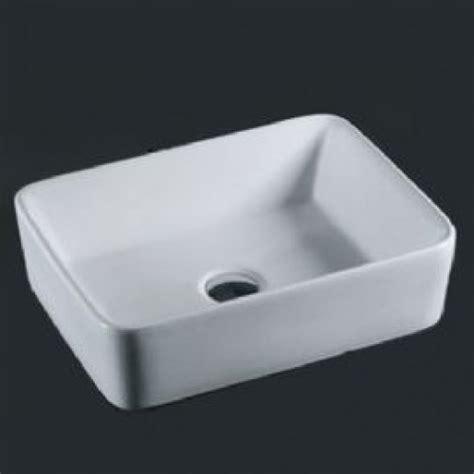 white rectangular vessel sink cas1915 white ceramic rectangular vessel sink