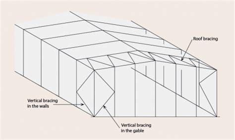 gable frame design exle concept design steelconstruction info