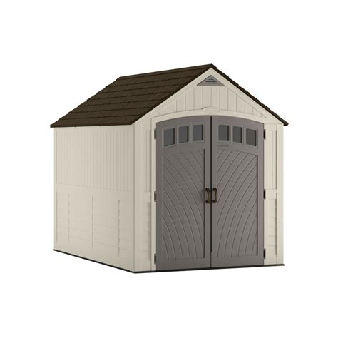 7 X 6 Shed by Shop Suncast Covington Gable Storage Shed Common 7 Ft X