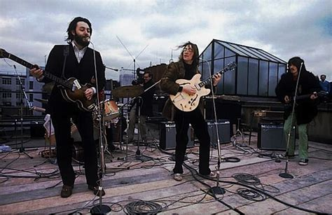 the beatles don t let me down rooftop the beatles let it be album review neonmoderntimes