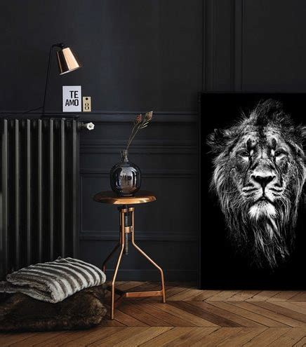 Decoration Murale Noir Et Blanc by D 233 Coration Murale Animale Izoa