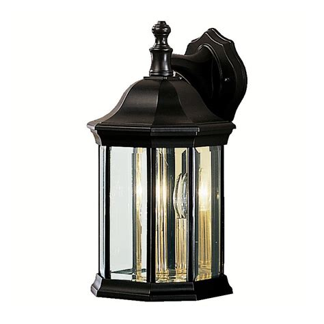 Kichler Outdoor Lighting Catalog Kichler 9777bk Black Chesapeake Collection 3 Light 15 Quot Outdoor Wall Light Lightingdirect