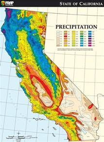 rainfall map marc valdez weblog cool california precipitation map