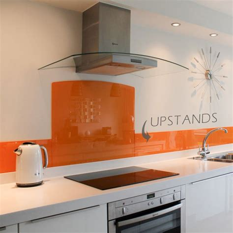 Glass Backsplash For Kitchens glass painted kitchen glass upstands any colour