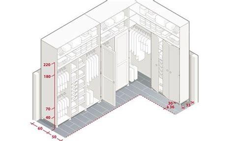meuble d angle haut cuisine 1666 quelles sont les dimensions du dressing parfait ranger