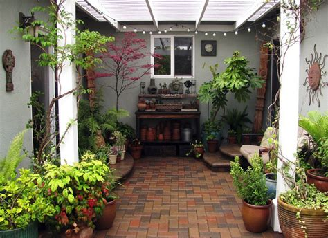 Small Indoor Garden Ideas Indoor Patio Ideas Newsonair Org
