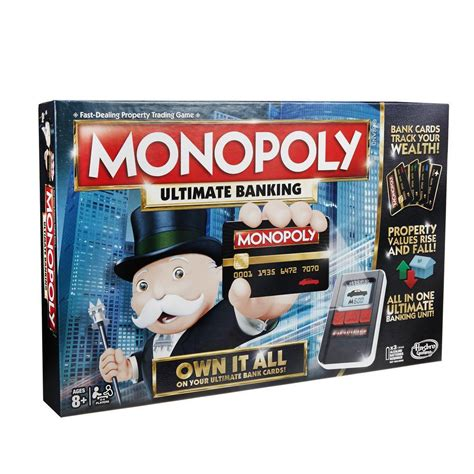 Monopoli 5 In 1 Gb monopoly ultimate banking edition board the gamesmen
