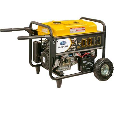 subaru sgx7500e generator the lawnmower hospital