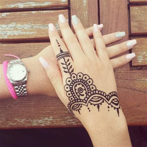 imagenes de tatuajes de henna para mujeres 125 tatuajes de henna con hermosos dise 241 os