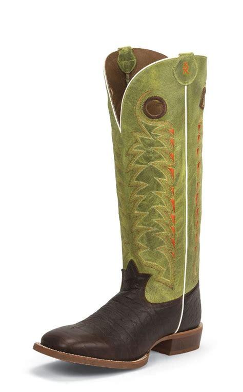 tony lama buckaroo boots mens tony lama 3r1028 mens choco jasper leather 3r buckaroo 16