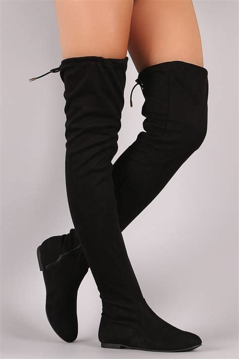 thigh high boots with no heel best 25 thigh high boots ideas on knee high