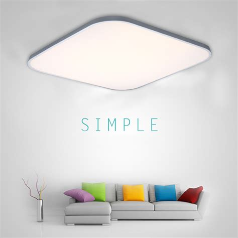 Wireless Ceiling Light Fixtures Thin Led Ceiling Light Pendant Fixture Chandelier Wireless Remote Ebay