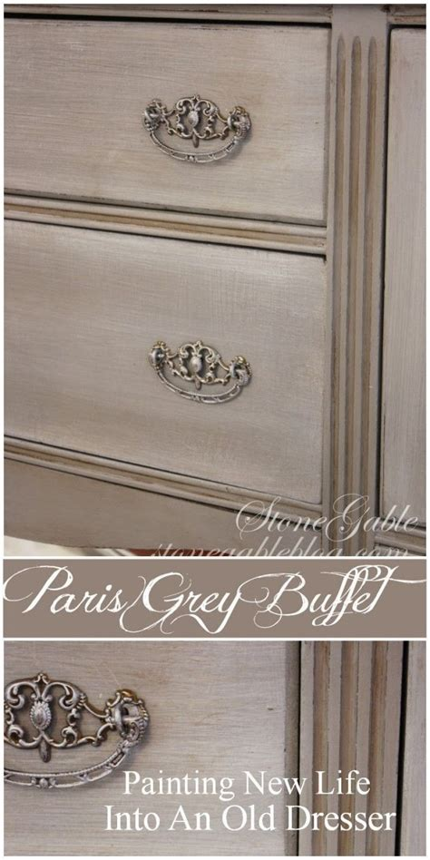 grey chalk paint diy diy how to get this paint finish using