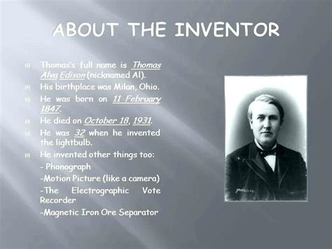 how did edison created the light bulb facts about edison created the light bulb shelly