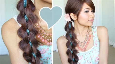hairstyles tutorial videos intricate 5 strand braid hair tutorial hairstyle bebexo