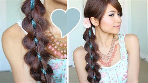 Intricate 5 Strand Braid Hair Tutorial Hairstyle   Bebexo