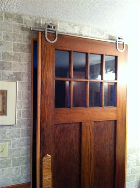 Rolling Barn Doors by Rolling Barn Doors Traditional Laundry Room By