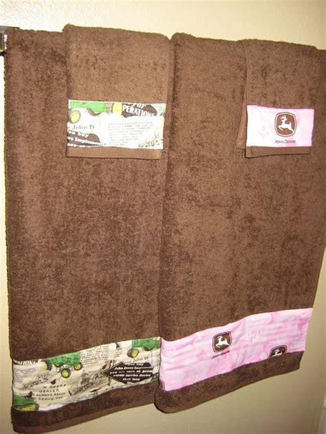 john deere bathroom set john deere towels of course i d have to do case ih