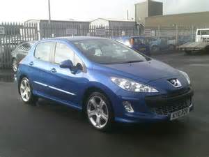 Used Peugeot 308 For Sale Used Peugeot 308 2010 Manual Diesel 1 6 Hdi 110 Sport Blue