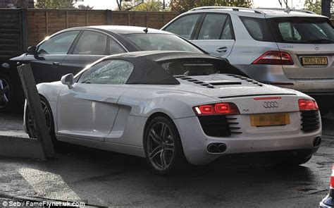 Helen sped off in her white audi as she continued her day of chores
