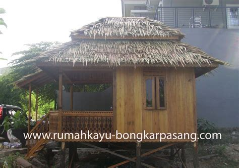 natural interior design  rumah kayu type