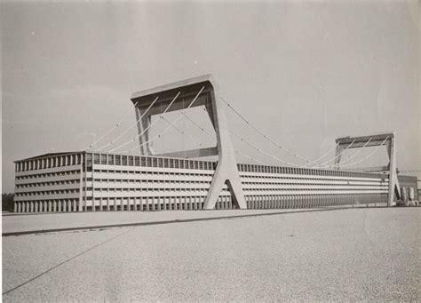 cartiera mantovana pier luigi nervi paper factory mantua early 1960s just