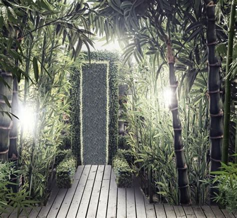Wedding Backdrop Wallpaper by 5x7ft Bamboo Forest Photography Backdrops Vinyl Backdrop