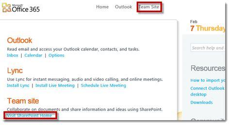 Office 365 Portal Site Connection Computrain Decision Consulting Faq