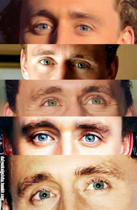 tom hiddleston eye color the tom hiddleston effect