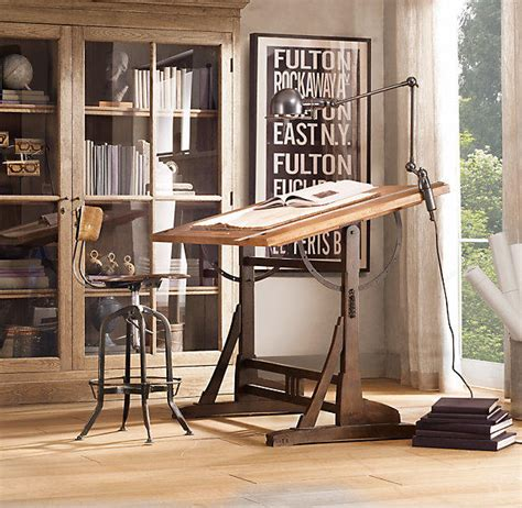 1920s French Drafting Table From Restoration Hardware 1920s Drafting Table