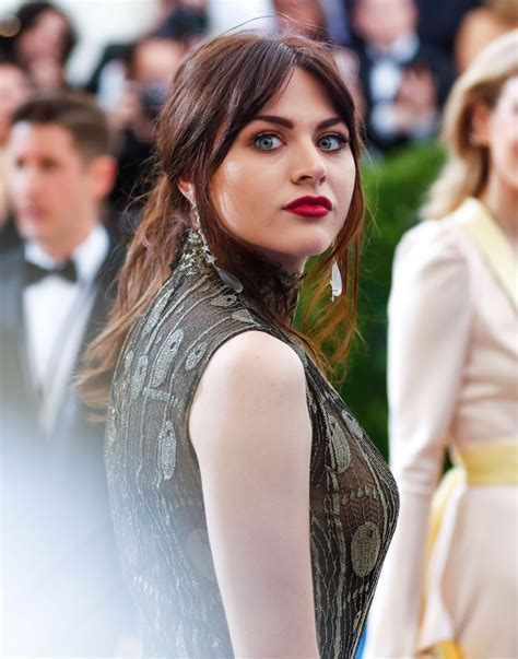 Frances Bean by Frances Bean Cobain At Met Costume Institute Gala In New