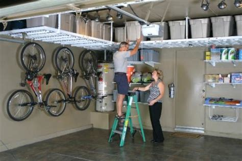 organization for garage storage ideas monkey bar storage