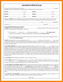 10 basic rental agreement fillable nurse homed