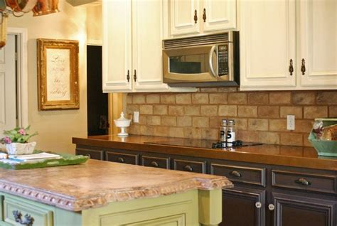 brick veneer for the backsplash kitchen inspiration