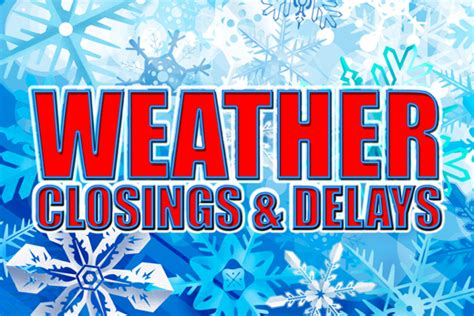 Winter Weather High Volume Delays Winter Weather Closings And Delays Wrhi