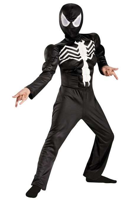 black costume boys ultimate black suited spider classic costume