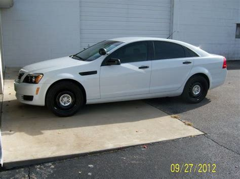 2011 chevrolet caprice sell used 2011 chevrolet caprice ppv sedan 4 door 6 0l