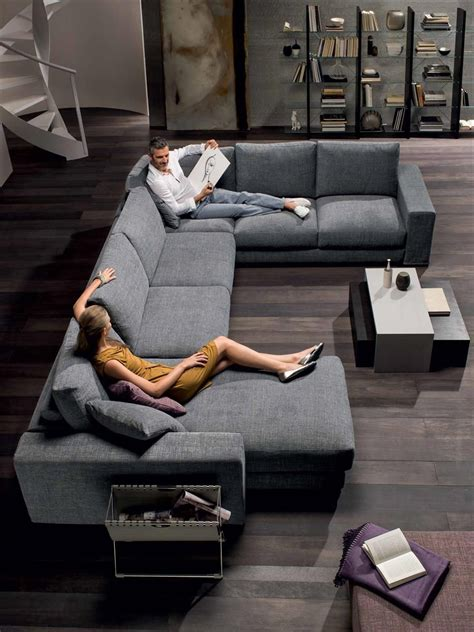 domino divani natuzzi sof 225 s domino color story greys