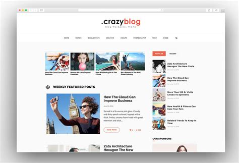 wordpress themes free blog personal 50 best personal blog wordpress themes 2018