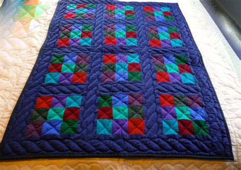 Traditional Amish Quilt Patterns by Items Similar To Infant Or Baby Amish Quilt Traditional