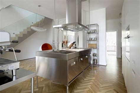 keuken industrieel look 25 geweldige idee 235 n over rvs keuken op pinterest rvs