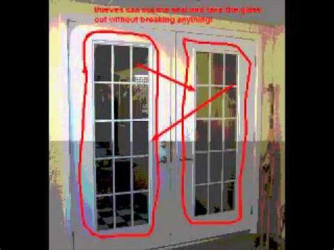 ways  secure  exterior doors youtube