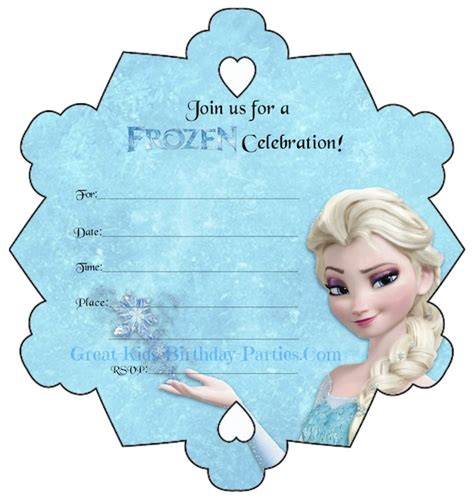 disney frozen birthday invitations printable free printable disney frozen birthday invitations theruntime