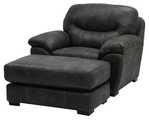Living Spaces Chair And A Half Chair And A Half And Ottoman Set For Living Rooms And