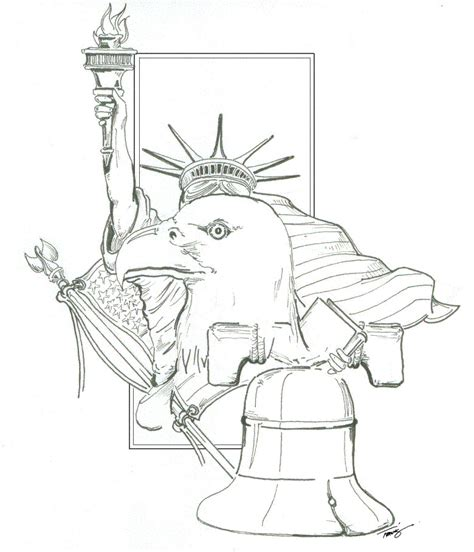 how to draw liberty bell liberty bell statue flag usa by angelfire7508 on deviantart