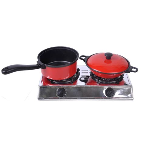 Play Kitchen Pan Set 13pcs Play Kitchen Utensils Pots Pans Cooking