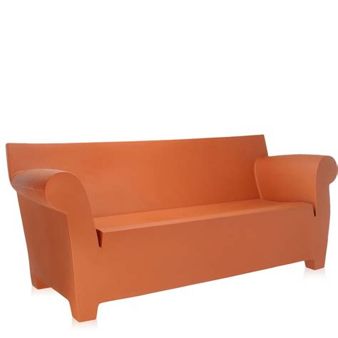 starck sofa kartell philippe starck bubble club sofa ochre panik