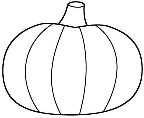 pumpkin outline coloring pages best pumpkin outline printable 22943 clipartion com