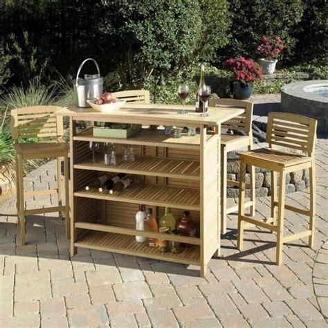outdoor mini bar furniture 10 sturdy outdoor mini bar ideas rilane