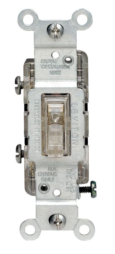 lighted toggle wall switch single pole decora wall switch 05601 701 in canada